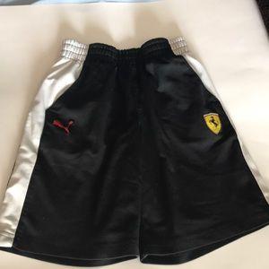 Ferrari puma boys shorts size 7